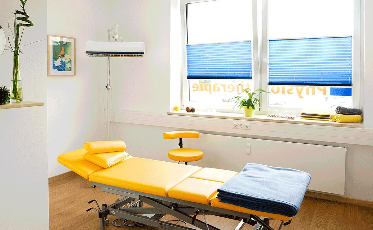 Behandlungsraum-Therapie